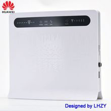Huawei B593 WIFI Router unlocked 4G 150Mbps LTE CPE wireless gateway B593s-12 B593u-12 with 4G antenna white & black color huawei unlocked b315 4g 3g b315s 607 mobile 4g wifi router 4g wifi dongle cpe hotspot voip cpe router pk b310 b593 e5172 b890