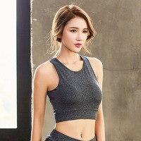 Fitness Women Crop Top 2017 New Women Tight Bustier Crop Top Skinny T Shirt Cropped Feminino