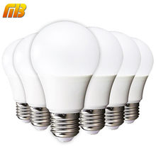 6pcs LED Bulb E27 E14 3W 5W 7W 9W 12W 15W 18W Smart IC LED Light Cold White Warm White Lampada Ampoule Bombilla Lamp Lighting(China)