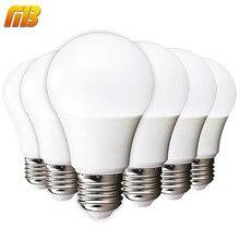 [Mingben] 6 шт. светодиодные лампы E27 3 Вт 5 Вт 7 Вт 9 Вт 12 Вт 15 Вт 220 В 230 В смарт-ic светодиодные холодный белый теплый белый лампада ампулы Bombilla лампа