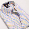 Camisas de los hombres de verano de manga corta camisa de Los Hombres camisa de vestir de nuevo de alta calidad de negocios camisa casual camisa slim fit masculina