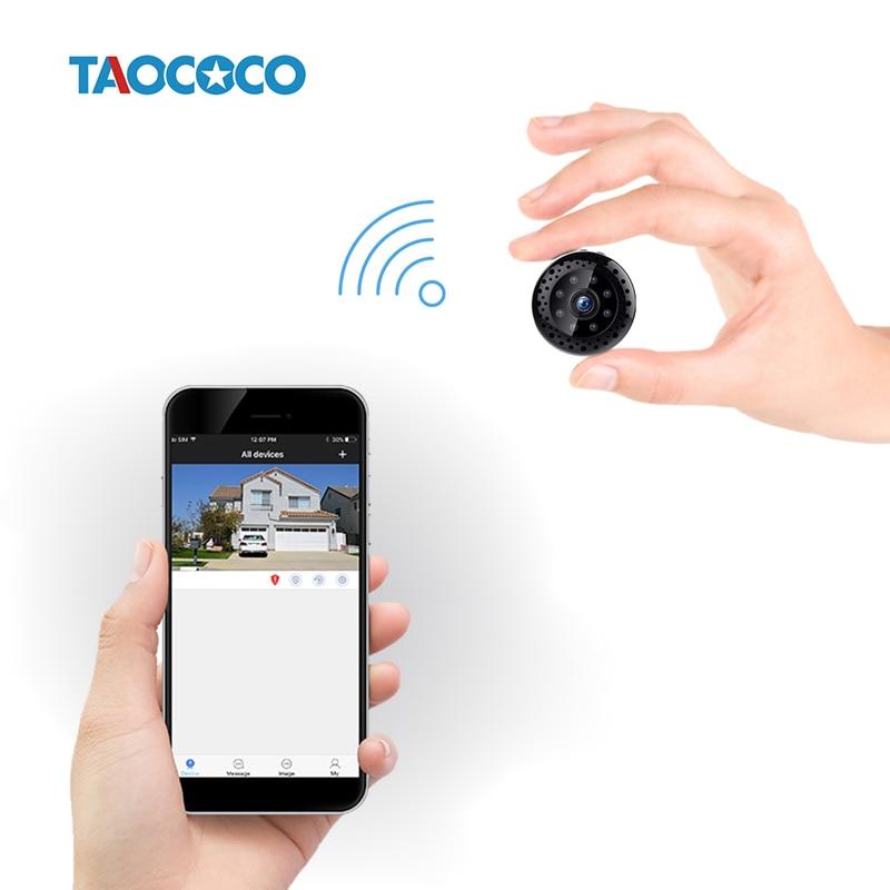 TAOCOCO 1080P HD Mini IP Camera Protable ONVIF Security Camera Built-in battery WiFi Night Vision Device Car Surveillance Camera
