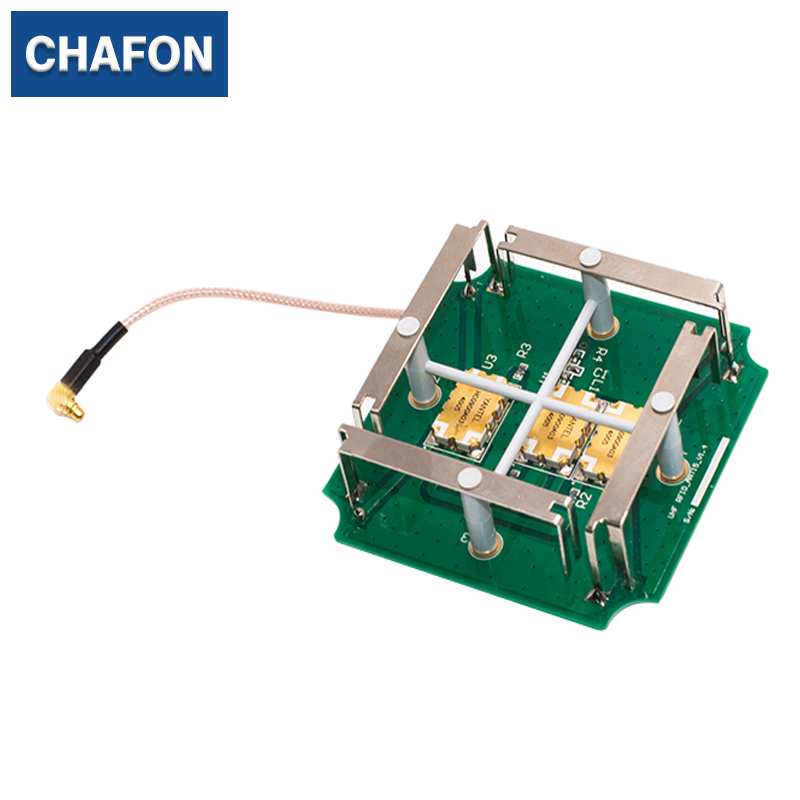 CHAFON UHF PCB Antenna Right-Handed Circular With MMCX Connector For Asset Management