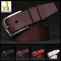 [MILUOTA]  Cinturones mujer Cowhide + High quality PU leather belt men fashion mens belts luxury brand belts for men W301