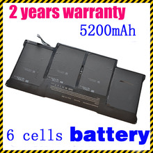 JIGU A1369 A1405 A1377 Laptop battery For Apple MacBook Air MacBook Air 13 MC504 13 MC503