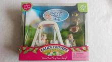 Sylvanian Family garden play pretend toy set mini size Swing Swan Children gift