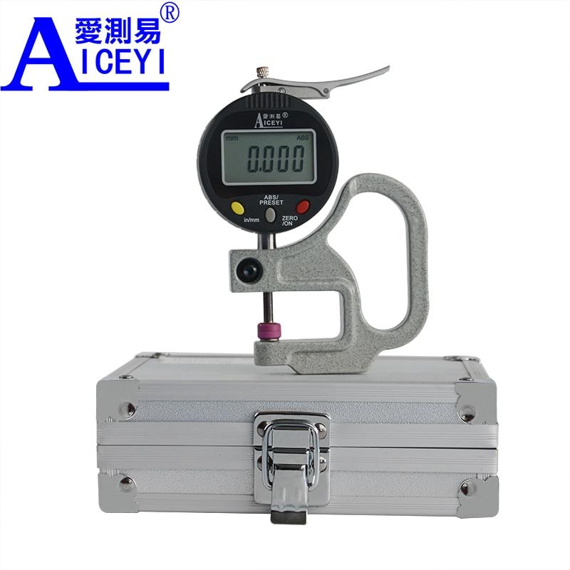 Здесь продается  Ceramic Head 0.001 mm Digital Thickness Gauge High Precision Electronic Micrometer Width Measuring Tool Tester Data Output   Инструменты