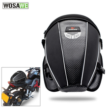 WOSAWE Motorcycles Rear Seat Bag Waterproof oxford Multifunction Shoulder Bag Backpack Reflective Strap Moto Motorbike Tail Bag алексей калугин миссия isbn 5 04 005605 2