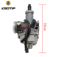 ZSDTRP Keihin PZ26 PZ27 PZ30 motorcycle Carburetor carburator case for honda CG125 CG150 and other model motorbike