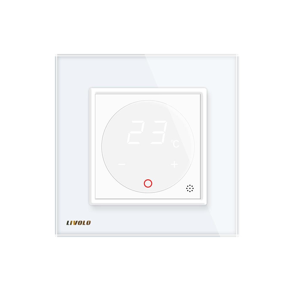 Livolo Thermostat intelligent EU contrôle de température Standard, dispositif de chauffage, panneau de verre cristal 4 couleurs, AC 110-250 V - 5