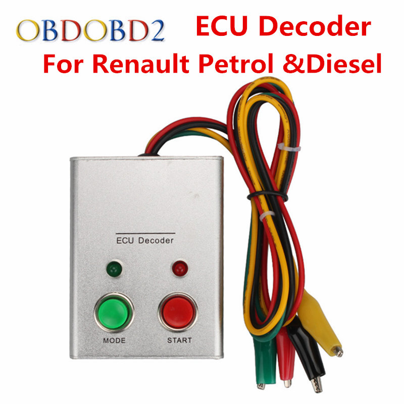 For Renault ECU Decoder Universal Decoding Tool For Fuel Injection ECU Engine Immobilizer System for Renault ECU Decoder