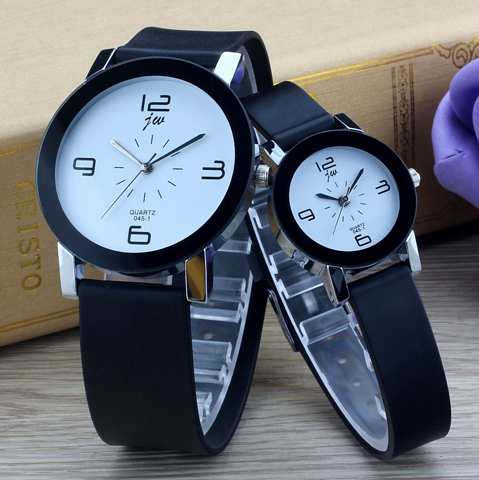 Fashion Jw Brand Casual Quartz Women Watches Men Clock Leather Strap Geometry Sports Watch Lover Wristwatches Relogio Masculino