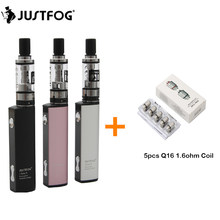 Original Justfog Q16 Kit 900mah Battery with 1.9ML Q16 Clearomizer Tank Electronic Cigarette Vape Pen Vaporizador Kit Vaper(China)