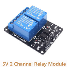5V 2 Channel Relay Module With Optocoupler Relay Expansion Board Low L