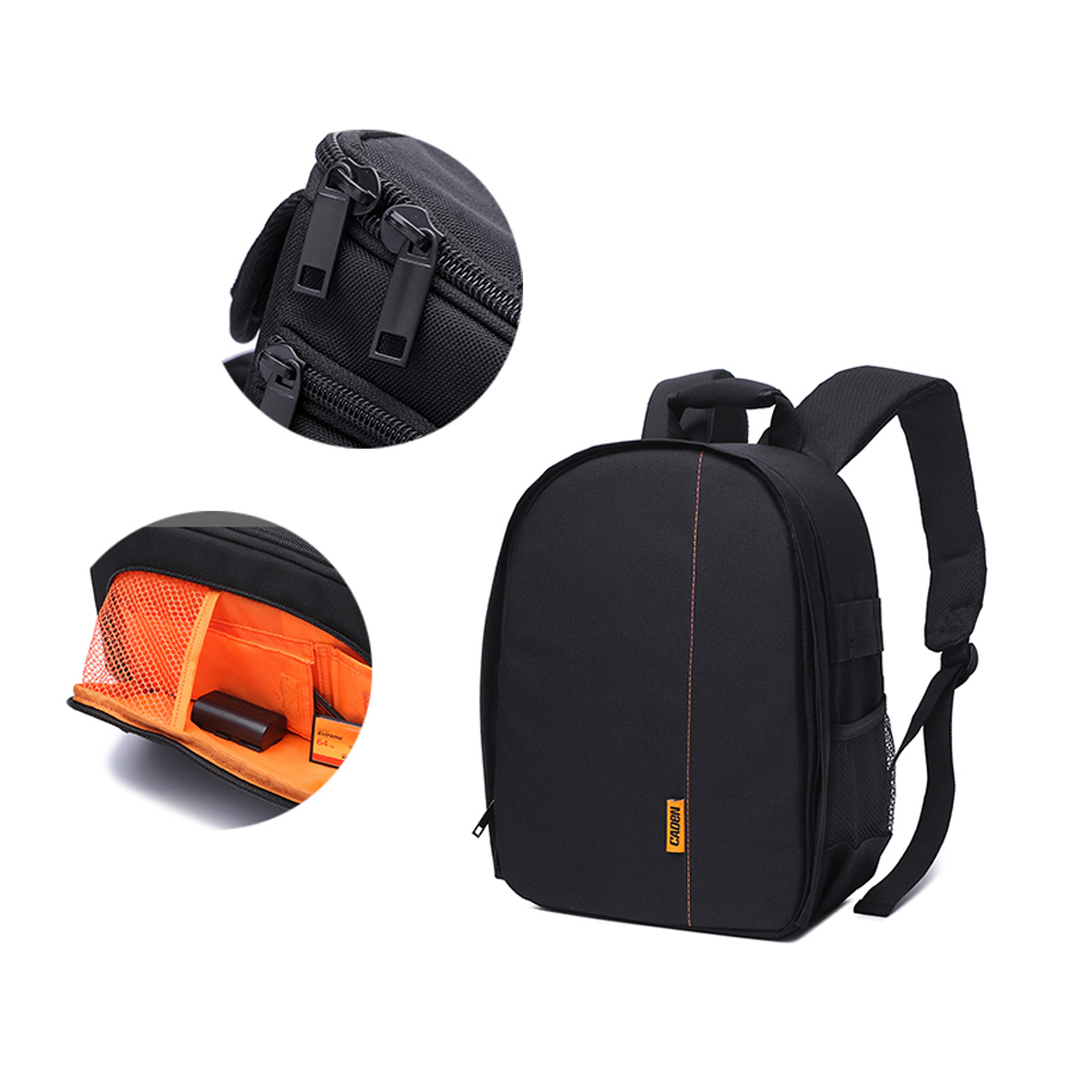 Waterproof Pattern Camera Bag Backpack Video Photo Bags Small Compact Camera Backpack Portable Lighting Accessories    - title=