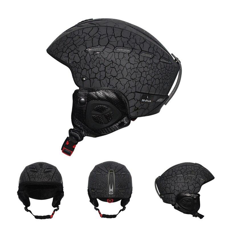 Sport casque de ski Adulte casque de ski Homme De Patinage/Planche À Roulettes Casque Multicolore Neige Sport Casques