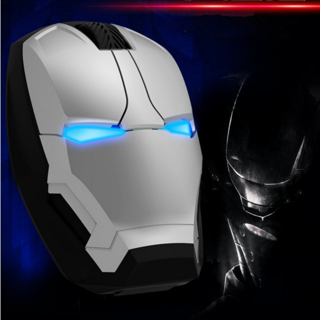 New Iron Man Wireless Mouse