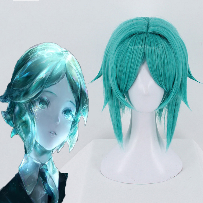Anime Land of the Lustrous Cosplay Wigs Phosphophyllite Cosplay Wig Heat Resistant Synthetic Wig Halloween Party Houseki no Kuni