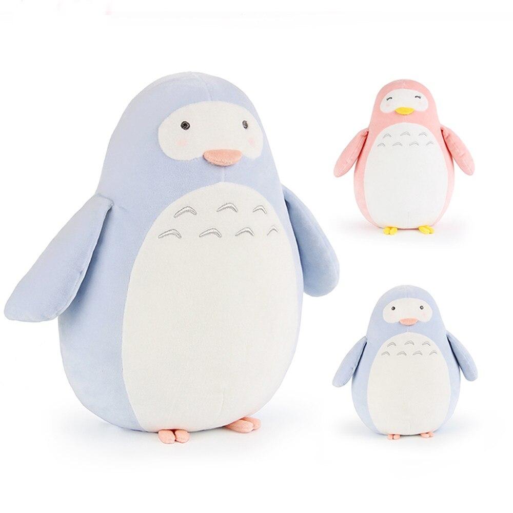 Fancytrader peluche douce pingouin jouets grand mignon Anime animaux pingouin poupée pour enfants 60 cm 24 pouces