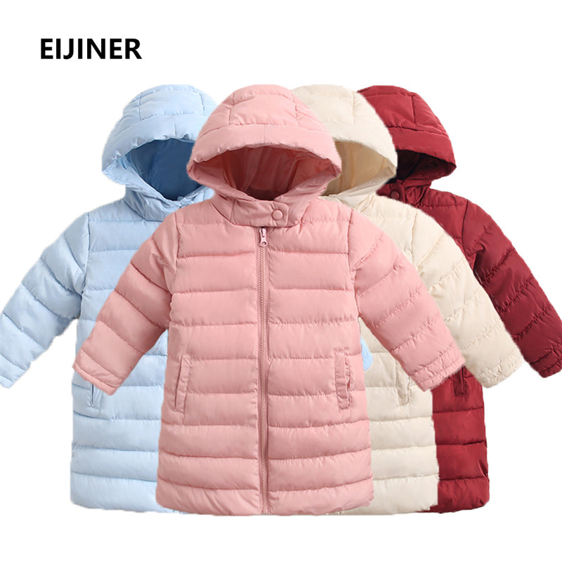 7ef09c188 2018 Boys Girls Winter Coat Cotton Children Winter For Boys Casual ...