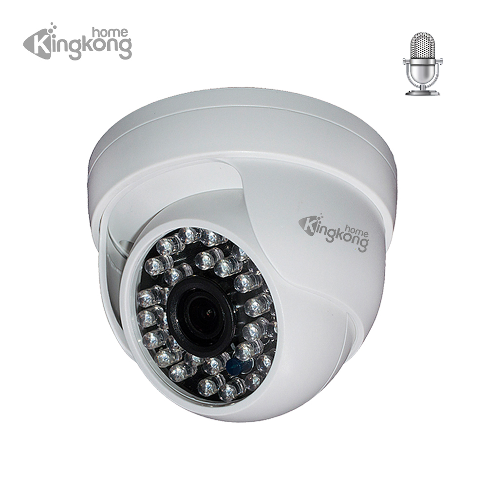 Kingkonghome IP Camera 1080P Built in Mic Audio Network Camera Day font b Night b font