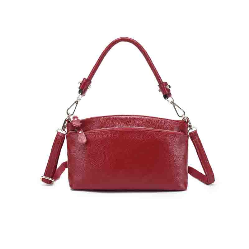 Women Bag Handbags Famous Brand Genuine Soft Cow Leather High Quality Women's Messenger Bags Crossbody Shoulder Top Handle Sac