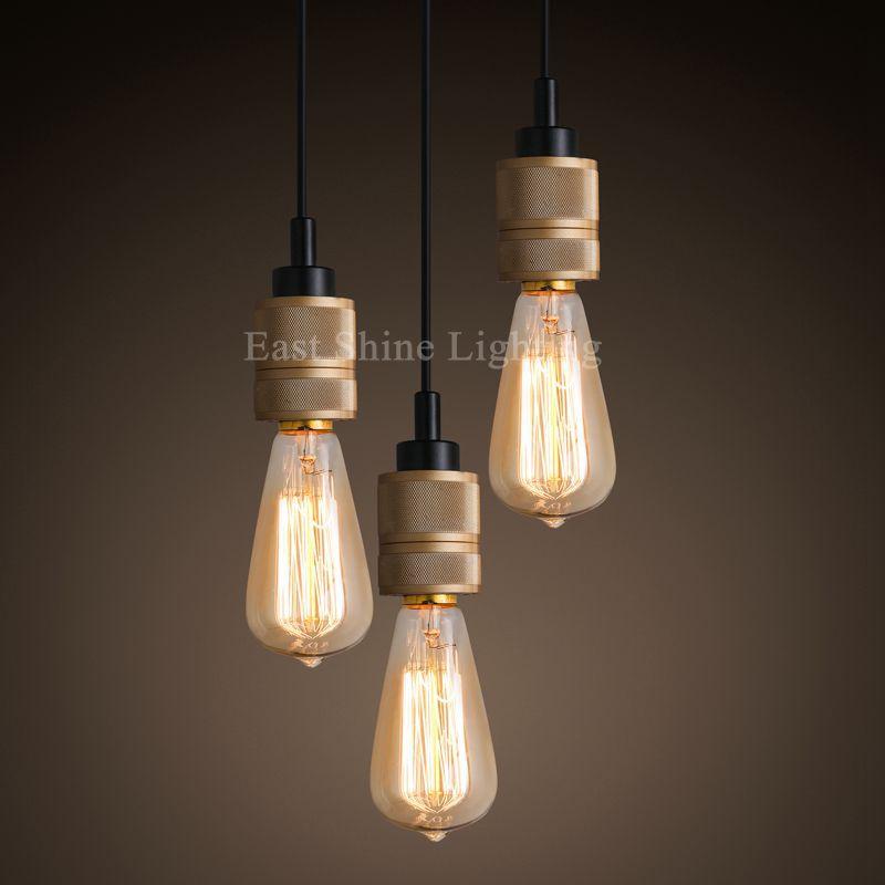 1 light retro vintage edison bulb pendant lights industrial pendant lamps bar restaurant light fixtures hanging lamps luminairein pendant lights from