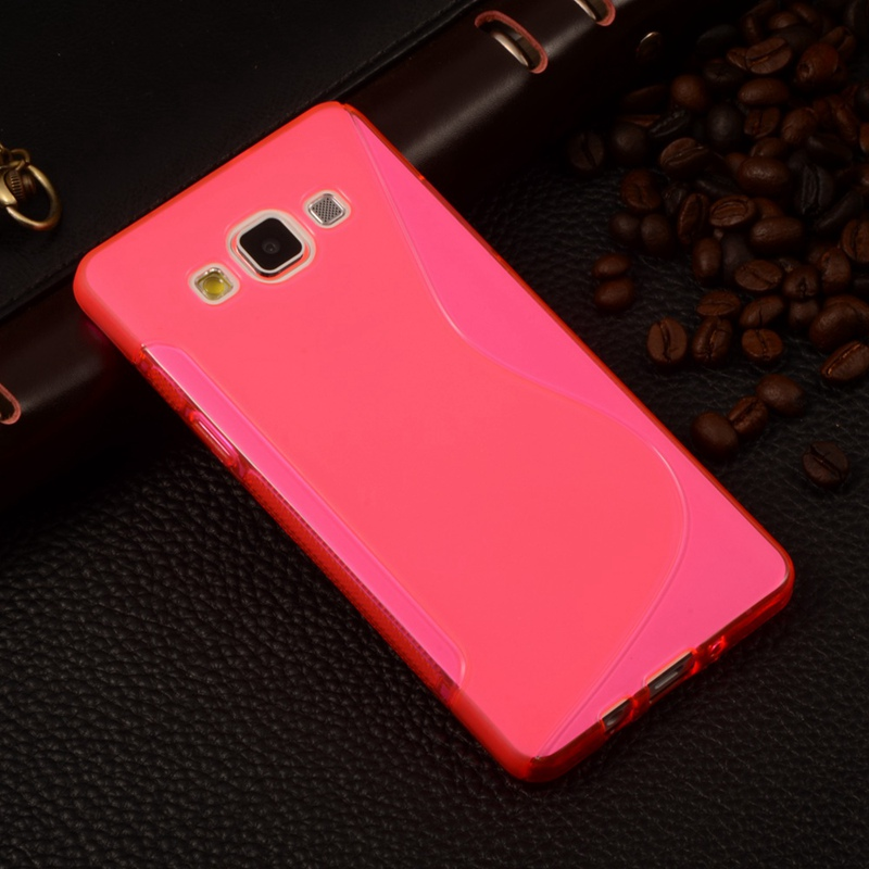 Case For Samsung Galaxy A3 2015 A300 Silicone S LINE TPU Case For Samsung Galaxy A3 2015 A300 4.5 Rubber Matte Cover Phone Cases