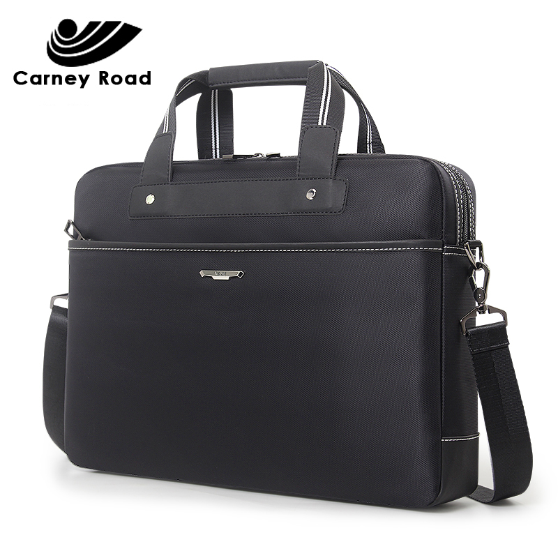 Brand Business Men's Office Bags 15.6 Inch Laptop Briefcase Bag Waterproof Oxford Men Handbag Male Messenger Shoulder Bag