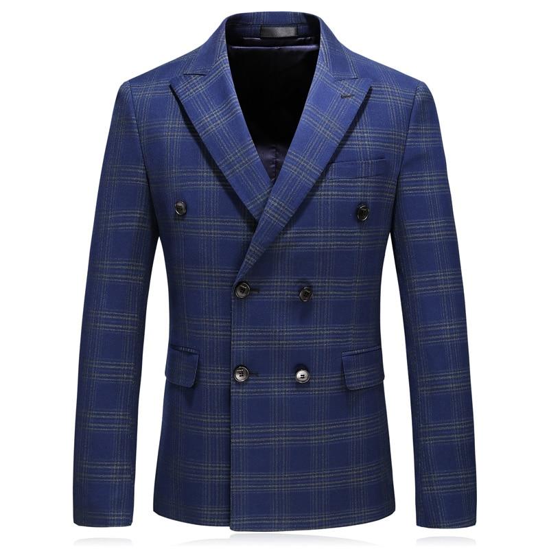 D'affaires Costumes Hommes Printemps Pantalon Bleu Convient Mode Mariage Plein 2018 M Bande Robe 5xl 4xl Classique Costume Gilet veste De pOxnww