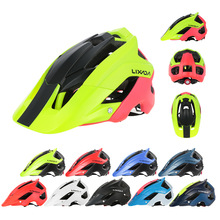 цена на LIXADA brand bright matte Helmet Ultralight Cycling Helmet Road MTB Mountain Bicycle Lightweight bike helmet 13 vents EPS