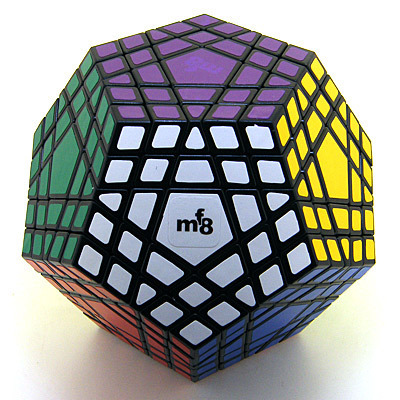 Magic cube mf8 5 5 gigaminx black magic square smooth gift present free air mail