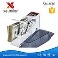 Mini portátil de Bill Cash Práctico Dinero Moneda Contador Máquina Contadora AC100-240V Equipo Financiero