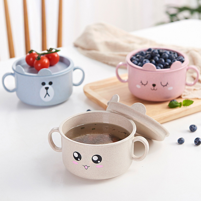 2019 New Baby Bowls Plate Children Food Container Placemat Dishes Infant Feeding Bowl Child Kids Feed Plate Tableware Sets