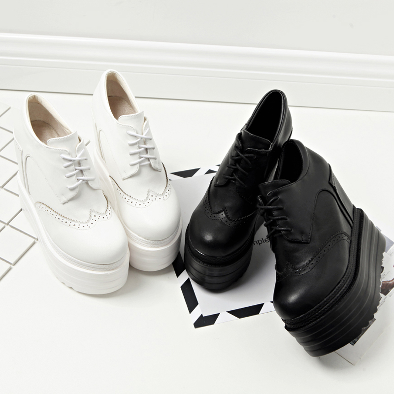 2020 new women's single shoes 13CM increased thick platform casual shoes sexy nightclub performance shoes