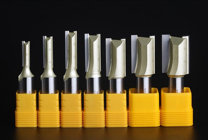 Frese a due taglienti con scanalature diritte Frese per legno Fresa - Macchine utensili e accessori - Fotografia 6