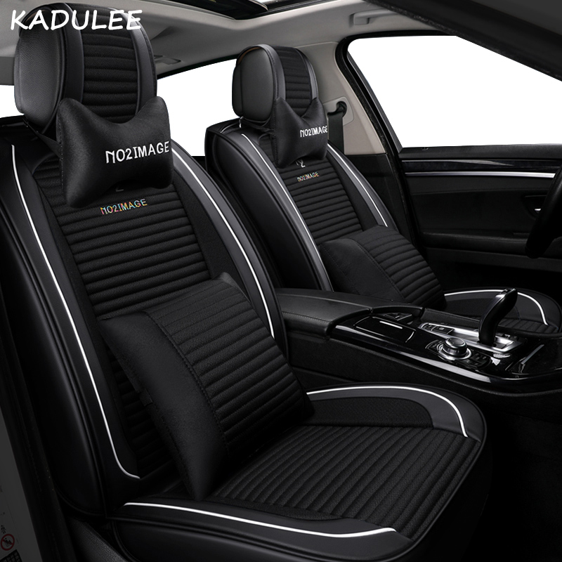 KADULEE car <font><b>seat</b></font> <font><b>cover</b></font> for <font><b>peugeot</b></font> all models 106 205 <font><b>206</b></font> 301 306 307 308 406 407 508 3008 car <font><b>seat</b></font> <font><b>cover</b></font> Car <font><b>seat</b></font> protector image