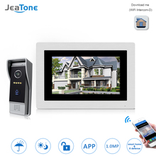7 inch WIFI IP Video Door Phone Intercom Wireless Door Bell Door Speaker Access Control System Touch Screen Motion Detection touch screen wired wifi ip video door phone intercom video doorbell villa apartment access control system motion detection