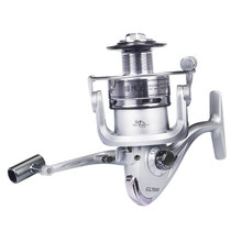 Steel fishing reel spinning wheel stainless-steel fish line of fishing wheel sea pole distant reel loer rod fishing wheel