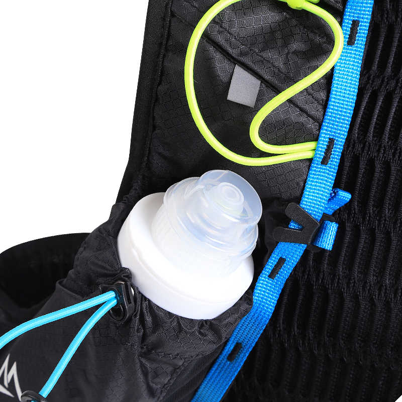 Maleroads ماراثون حقيبة ظهر هيدراتية 5L الرياضة في الهواء الطلق درب صدرة للجري حقيبة حقيبة ظهر خفيفة الوزن ركوب الدراجات المشي حقيبة الظهر