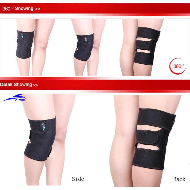 1 piece Magnet Sehat adjustable Knee Brace Dukungan Wrap Olahraga Knee Pad Protector Penjaga pemanasan sendiri atau Lutut Bernapas pad
