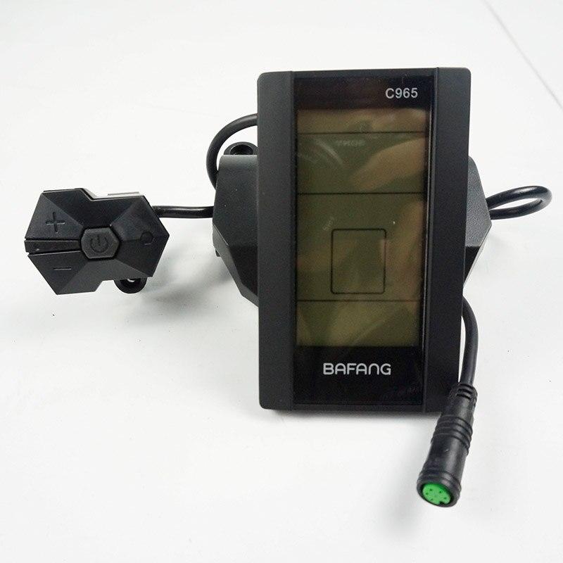 Bafang BBS01 BBS02 BBSHD C965 LCD Display For Electric Bike Bicycle Scooter Conversion Kit E Bike Accessories Ebike LCD цена