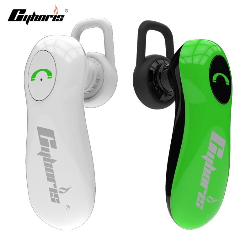 CYBORIS Kablosuz Bluetooth Kulaklık Gürültü Iptal MIC ile - Taşınabilir Ses ve Görüntü - Fotoğraf 2