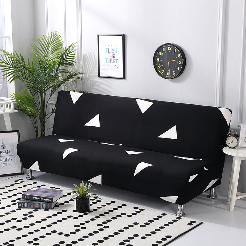 Elastic Folding Sofa Bed Covers Without Armrest All-inclusive Tight Wrap Sofa Covers For Living Room Couch Cover Copridivano