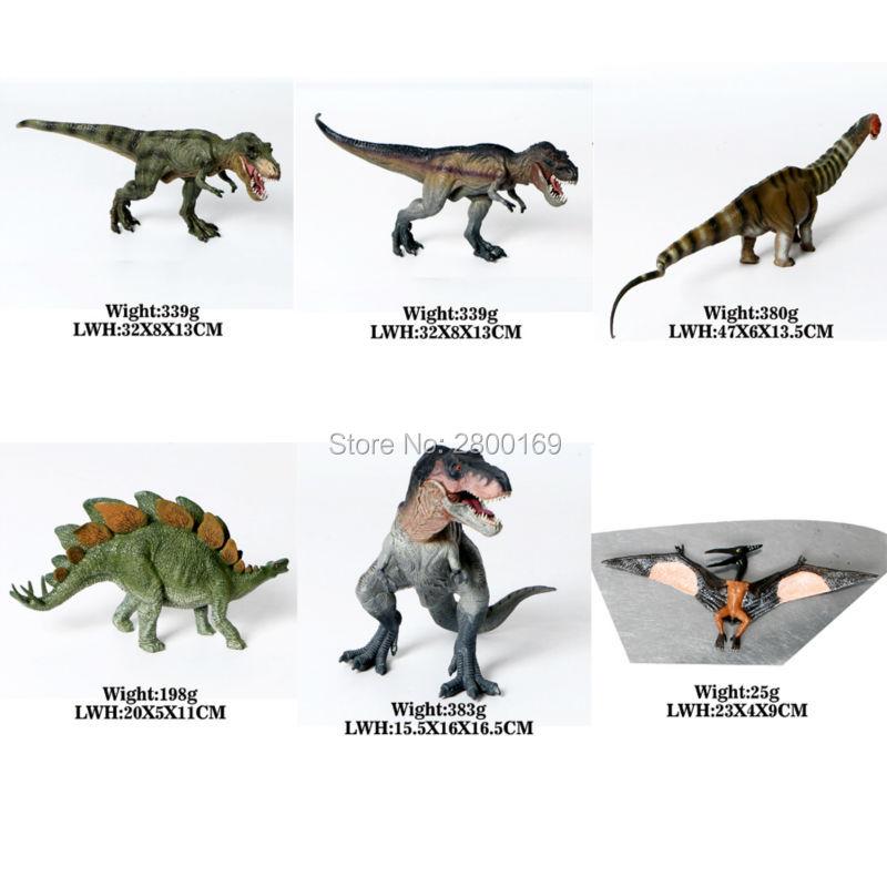 Dinosaur Walking Rex, apatosaurus,Stegosaurus,Squatting Rex,Pterosaur Jurassic World Park Dinosaur Toys Model Action Figures lamwin simulation jurassic world park pvc middle size plastic dinosaur toys action figures dinossauro model