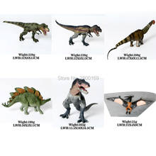 Dinosaur Walking Rex, apatosaurus,Stegosaurus,Squatting Rex,Pterosaur Jurassic World Park Dinosaur Toys Model Action Figures(China)