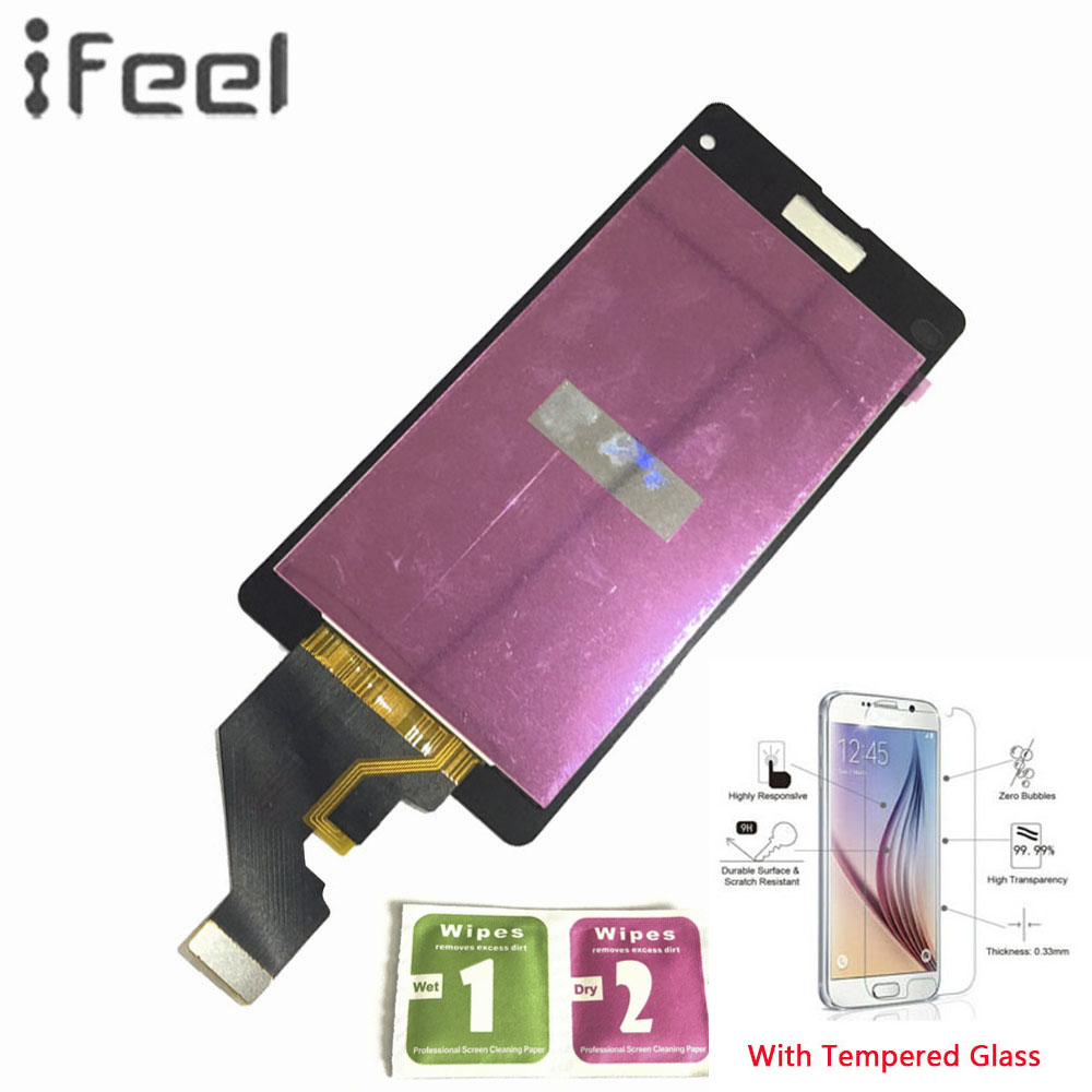 IFEEL 100% Tested Working LCD Display Touch Screen Digitizer Repair Assembly For Sony Xperia Z1 Compact D5503 M51w Z1 Mini