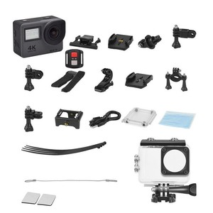 """Image 5 - 4K Action Camera 2.0""""Touch Screen WIFI Dual Screen 12MP Helmet Camera 30m DV 170 Degree Wide Angle Lens Sport Cam"""