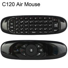 C120 /G64 2.4G air mouse Rechargeable Wireless remote control Keyboard for Android TV