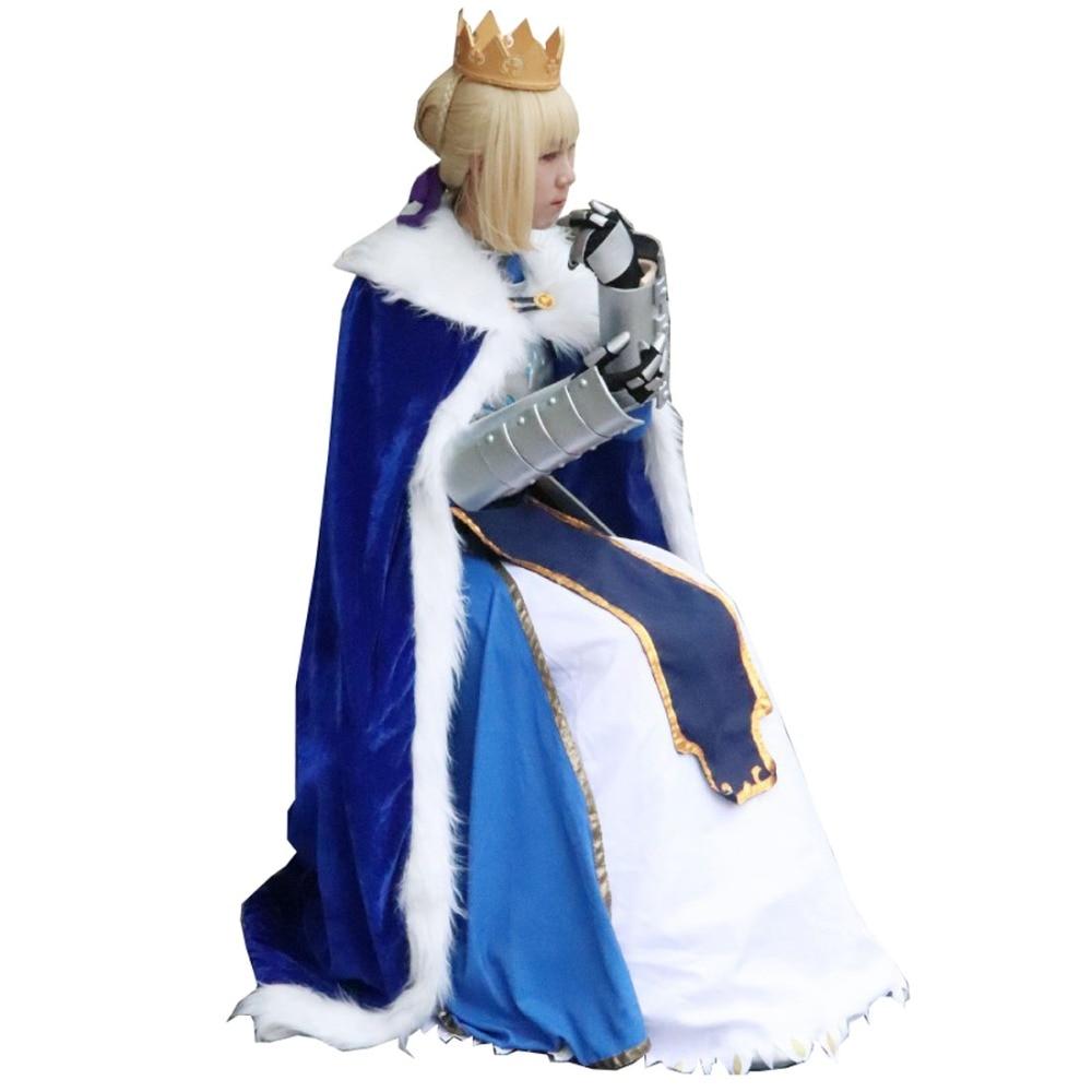 FATE FGO Fate//Grand Order Saber Small Dog Cat Clothes Pet Clothing Costume Cloak